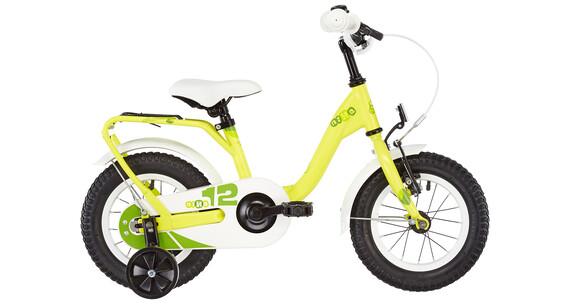 s'cool niXe 12 - Vélo enfant - steel jaune